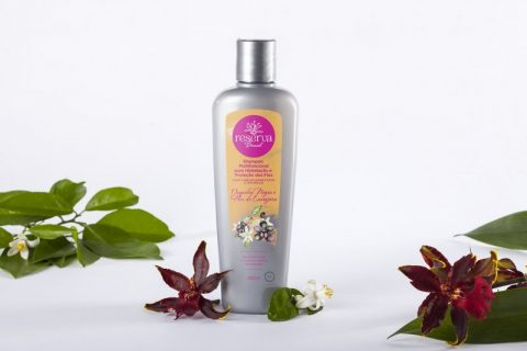 Shampoo Multifuncional Orquídea negra e Flor de laranjeira 360ml