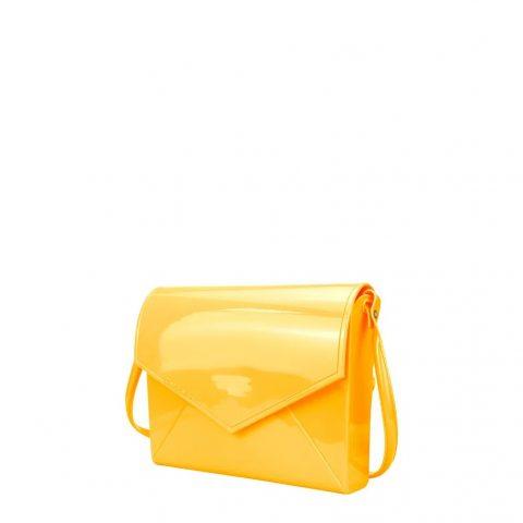 Bolsa Flap Petite Jolie Amarela PJ2365 frente lado