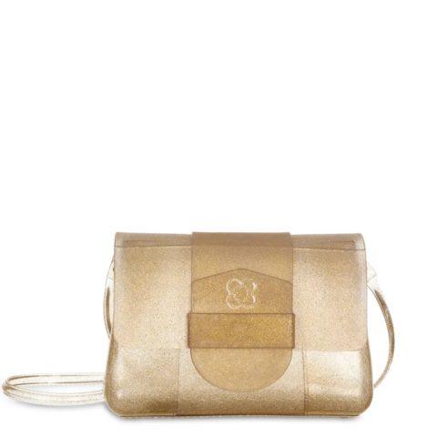 Bolsa One Petite Jolie PJ4556 Glitter Dourado