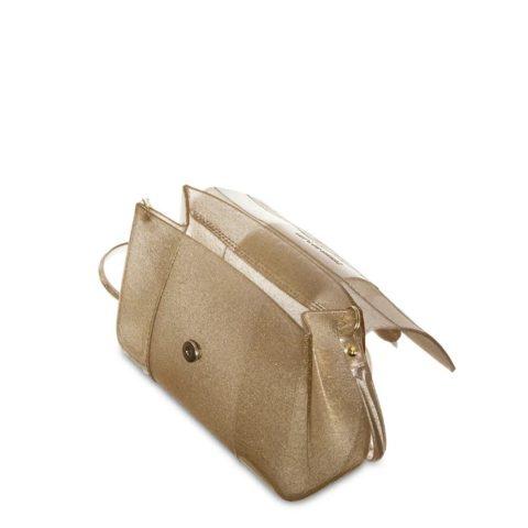 Bolsa One Petite Jolie PJ4556 Glitter Dourado dentro