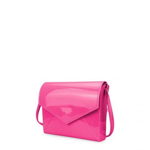 Bolsa Petite Jolie Flap Pink PJ2365 frente lado